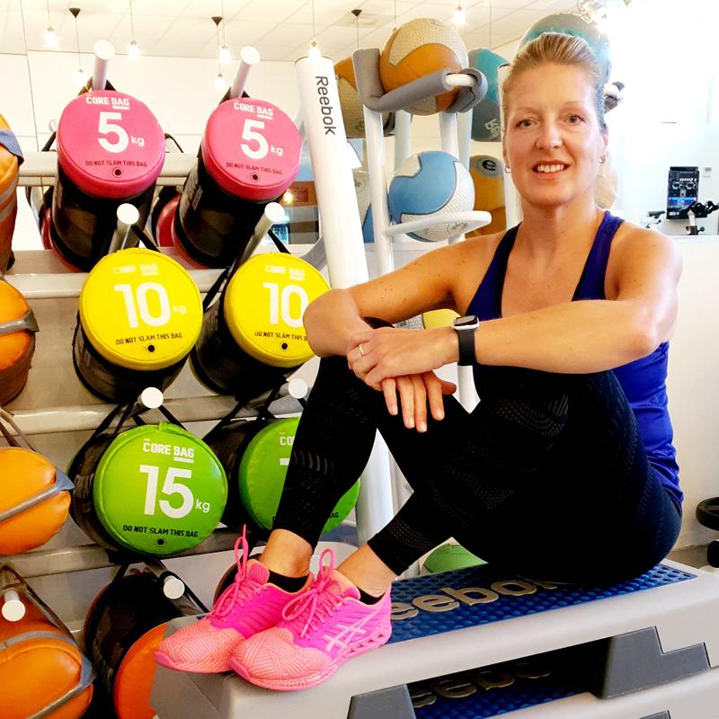 Enjoy Sportsclub groepslessen fitness team Angela