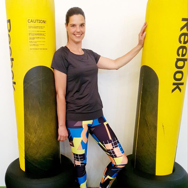 Enjoy Sportsclub groepslessen fitness team Danielle