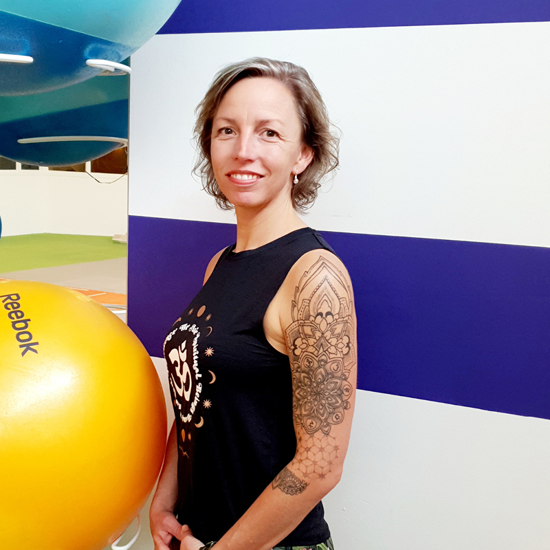 Enjoy Sportsclub groepslessen fitness team Petra