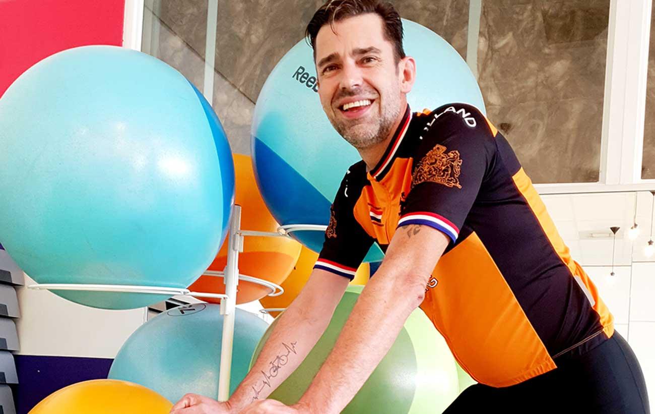 Enjoy Sportsclub Made verwelkomt collega Pieter Koehoorn spinninginstructeur